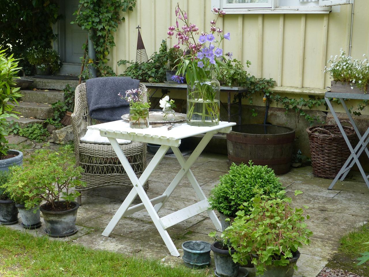 Que faire en matière d'assurance si son mobilier de jardin est détruit ?